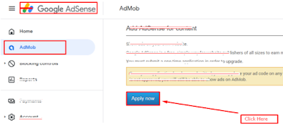 how to apply website with google adsense