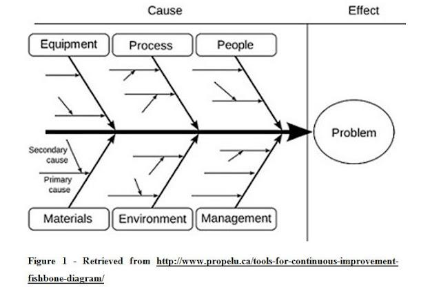 Fishbone business management analysis
