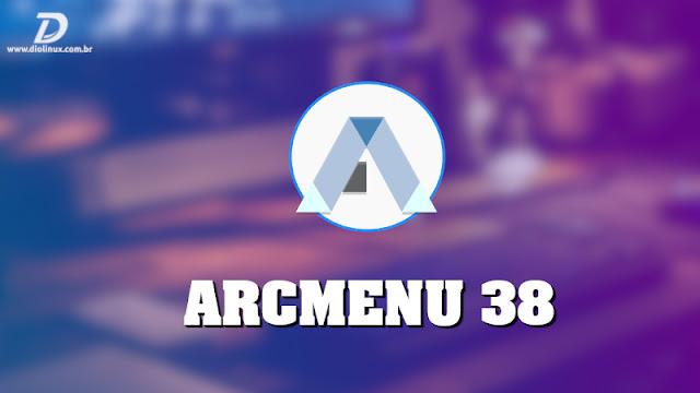 ArcMenu chega  na versão 38 com o layout KRunner adicionado