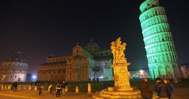 Região central de Pisa
