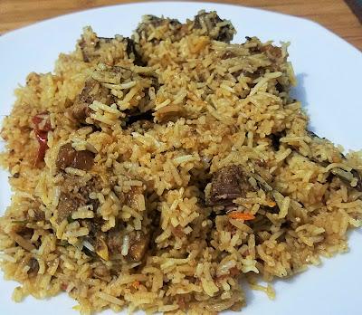 Mutton Sindhi Biryani, Sindhi Biryani, Mutton Biryani by thehoggerz.com