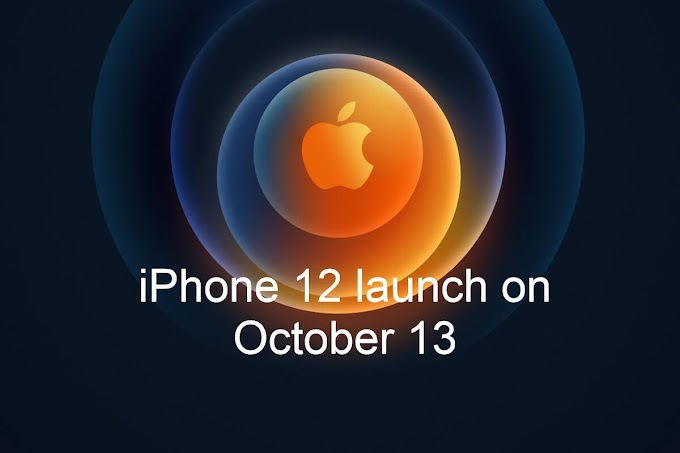 October 13 iPhone 12 Model Launch Points Apple Event