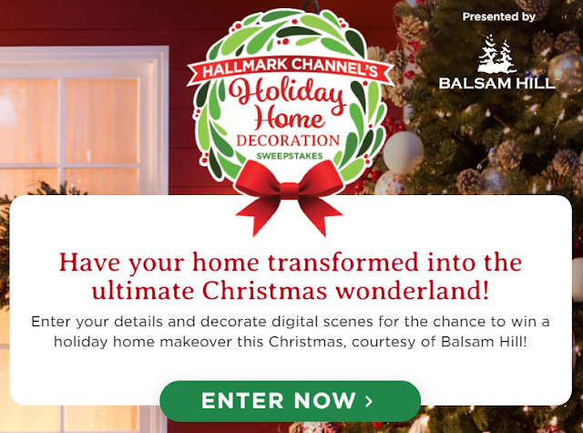 The Hallmark Channel wants to help decorate your house for Christmas. Enter for a chance to win a Holiday Home makeover or other great Holiday prizes!