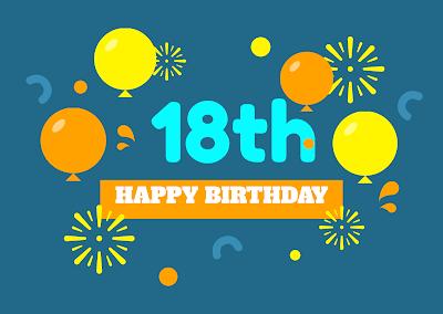 ucapan ulang tahun yang ke - 18 bahasa inggris