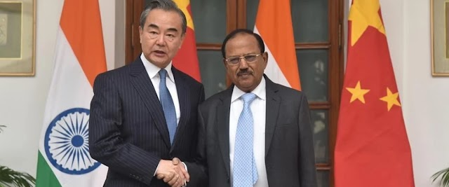 India and China are sitting in political dialogue