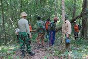 Anggota SatgasTMMD, Beri Edukasi Untuk Memanfaatkan Lahan Tidur, Menjadi Perkebunan