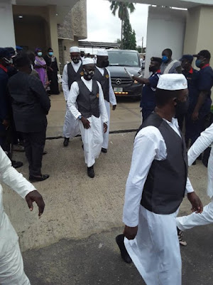 IMG 20200628 143415 - Ajimobi laid to relaxation at his Oluyole residence (Photographs)