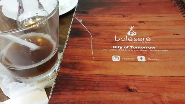 balé sere Resto & Café, Tempat Nongkrong di Cito Surabaya