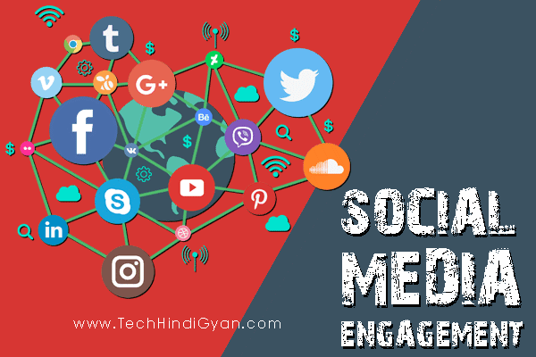 Social Media Engagement - Facebook | Instagram | Twitter | Pinterest | YouTube