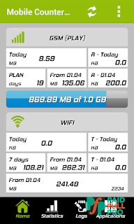 Mobile Counter Pro 4G WIFI Patched APK