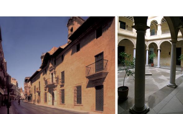 palacio abacial, alcala la real, restauracion, historia, santiago quesada