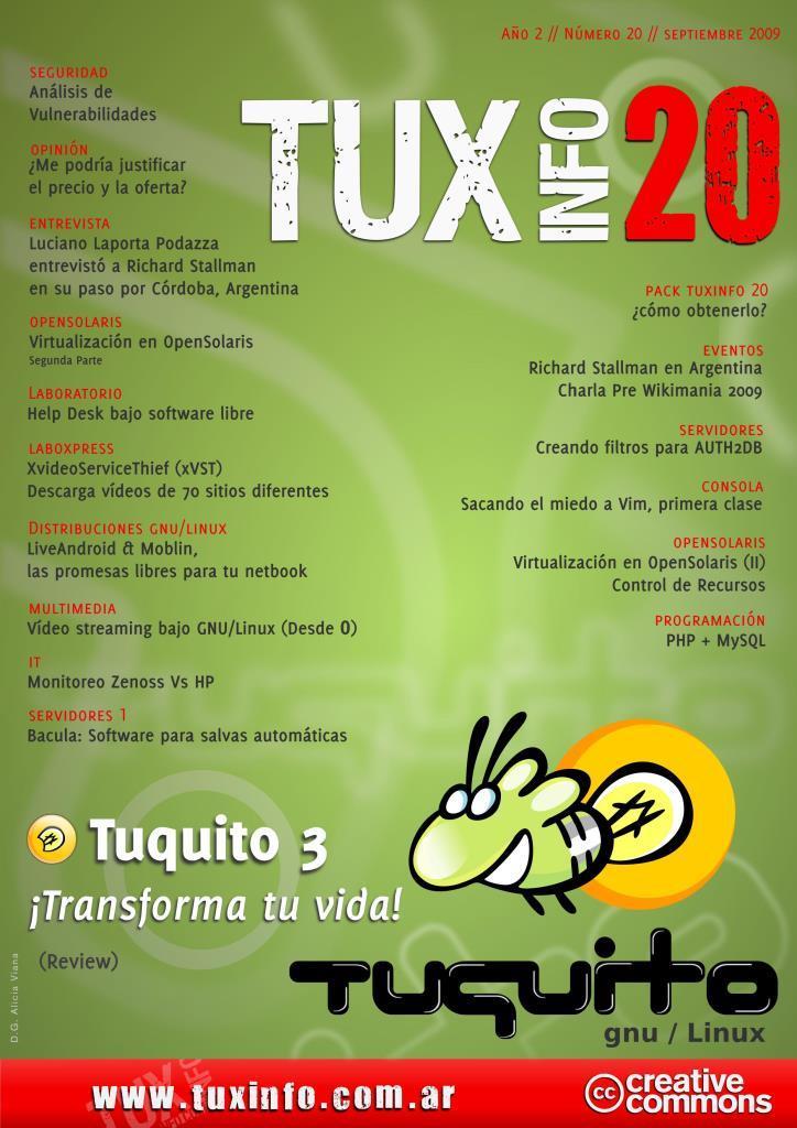 TuxInfo Nro. 20 – Tuquito 3: ¡Transforma tu vida!