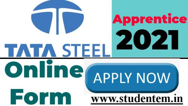 TATA Steel Apprentice Recruitment Online Form 2021- Apply Online Form