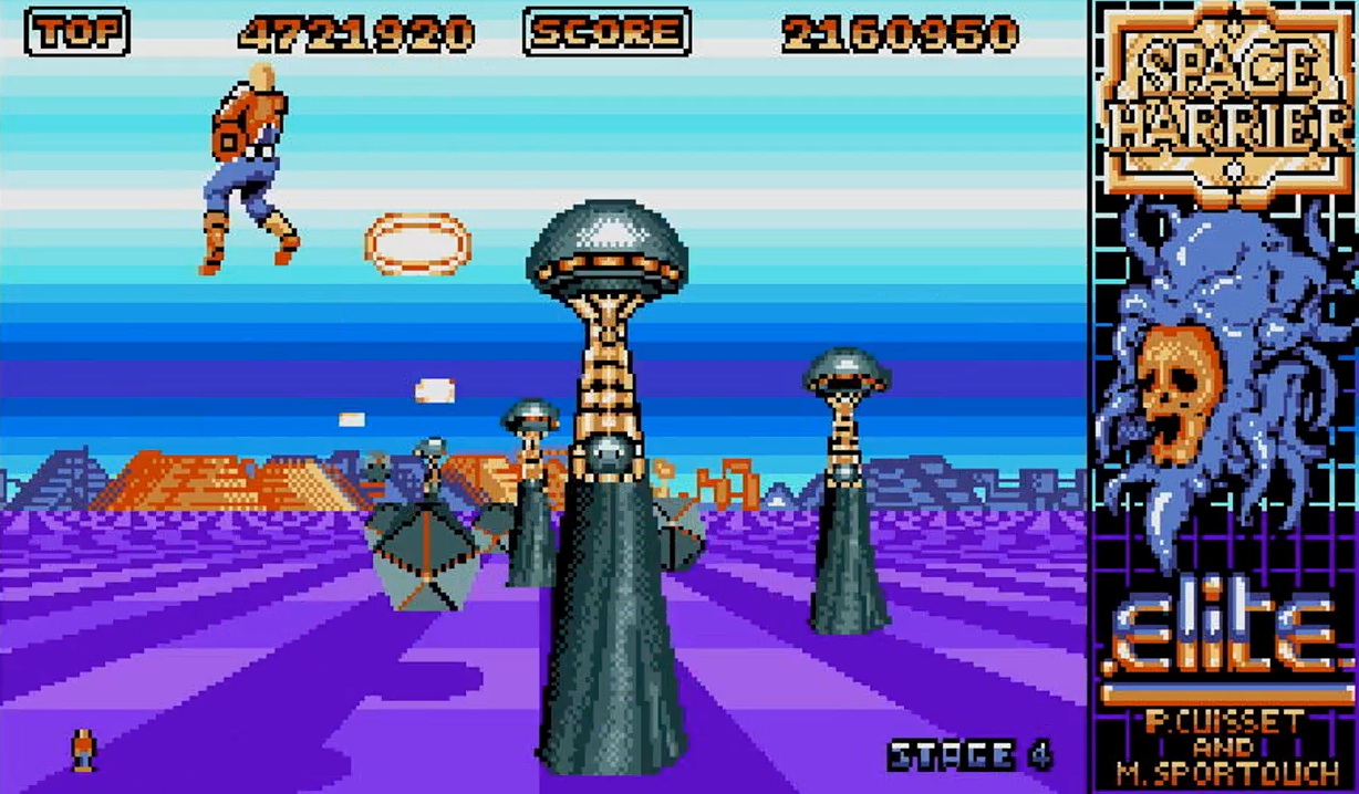 Indie Retro News: Space Harrier - A retro look back of a