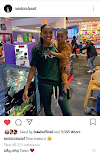 KISSDANIEL  SHOW OF THE PICTUTES OF HIS BABYMAMA AND HIS SON, ON HIS INSTAGRAM PAGE.