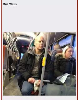 Persona parecida a Bruce Willis