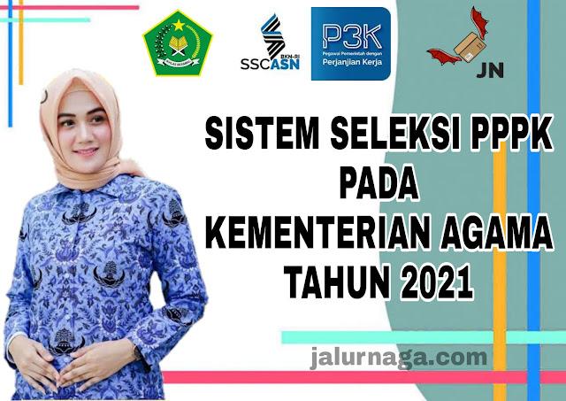 Sistem Seleksi PPPK Pada Kementerian Agama 2021