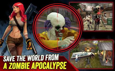 Download Game Zombie Hunter War of The Dead 1.4 MOD APK (Unlimited Money) Terbaru 2017
