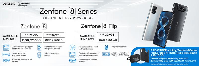 Zenfone 8 series price in PH