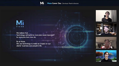 งาน Muze Career Day แบ่งปันทักษะยุคดิจิทัล  พร้อมต้อนรับ Developer รุ่นใหม่เข้าร่วมทีม