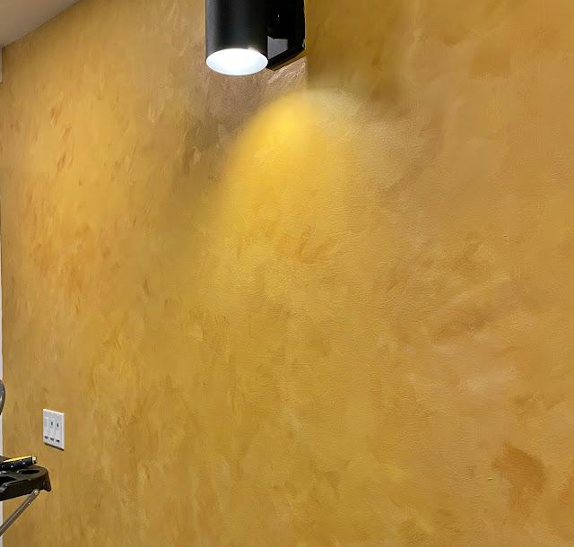 colour wash wall diy