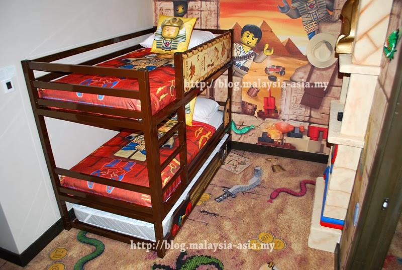 Legoland Hotel Malaysia Kids Room