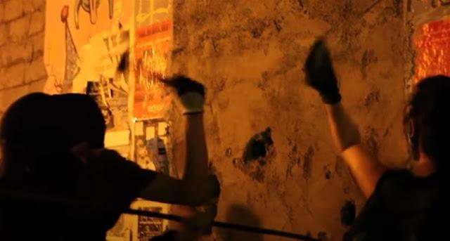 Εξάρχεια: Αντιεξουσιαστές ανακατέλαβαν κτίρια που είχαν εκκενωθεί