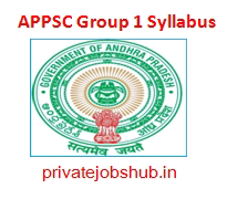APPSC Group 1 Syllabus