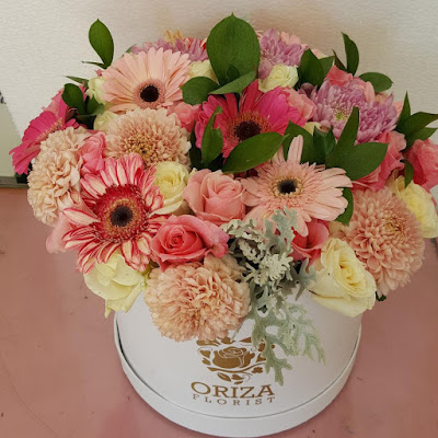 flower in box surabaya, toko bunga hiasan di surabaya, toko bunga di surabaya yang murah