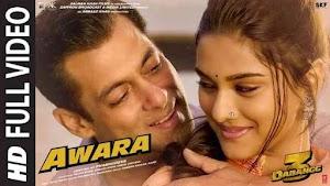 Awara Lyrics english Dabangg 3   Salman Khan,Sonakshi S,Saiee M