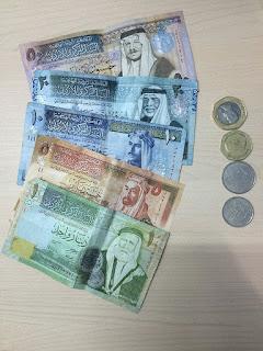 uang dinar yordania