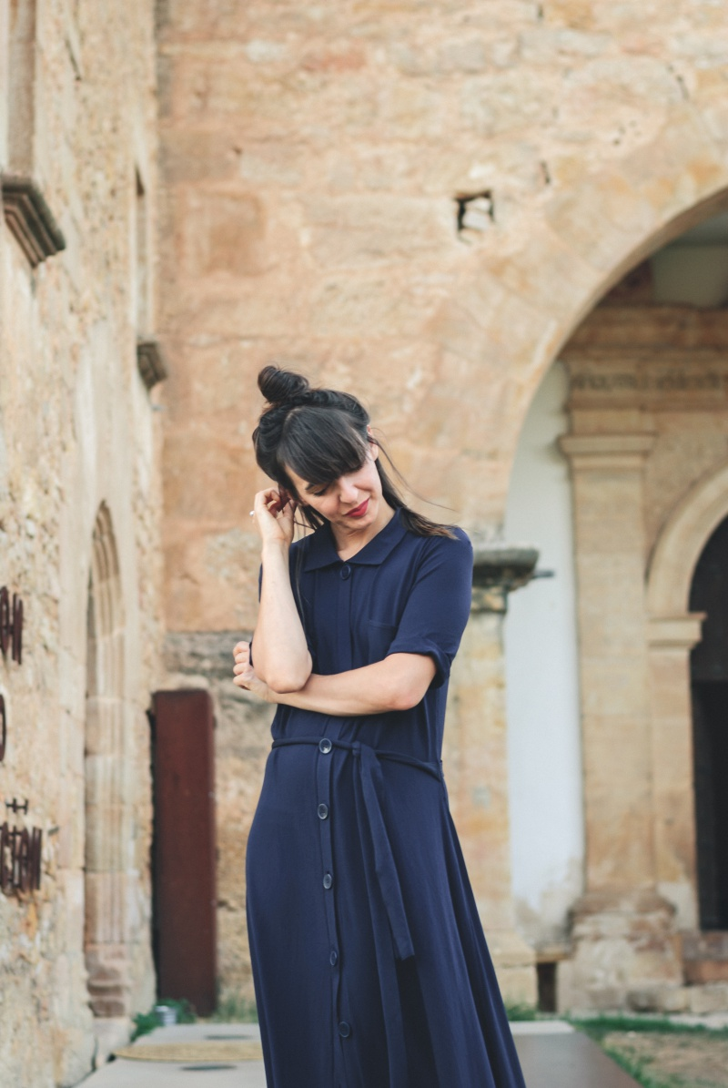 Blue Zara Knit dress