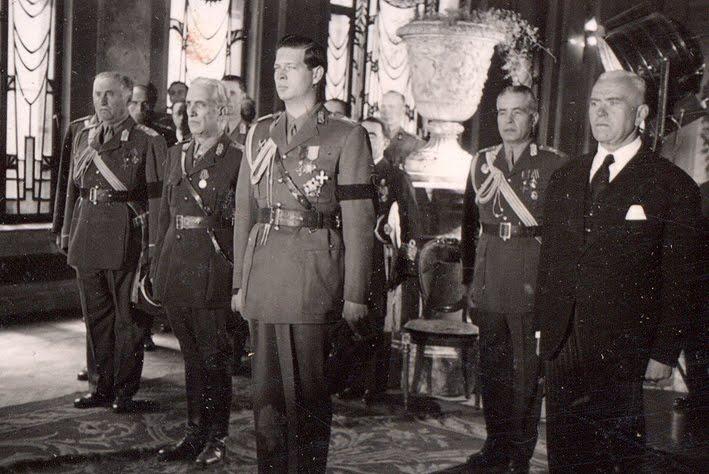 art historia blog Regele Mihai şi dr. Petru Groza