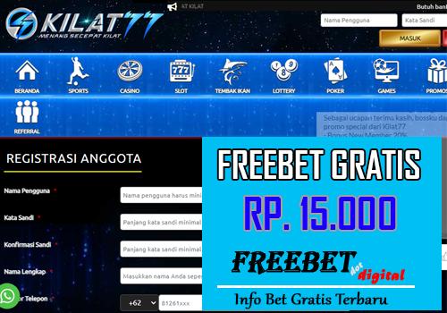 FREEBET GRATIS KILAT777/K77.link