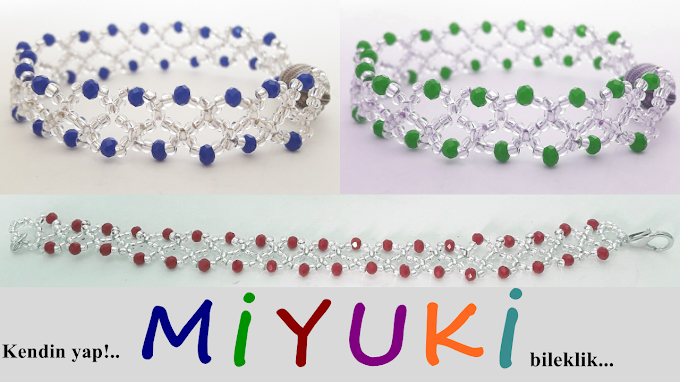 Miyuki bileklik yapımı ve modelleri | Yeni tasarım!