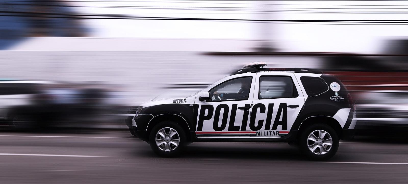 Homem é detido por desacato após xingar guarnição da PM em Penaforte