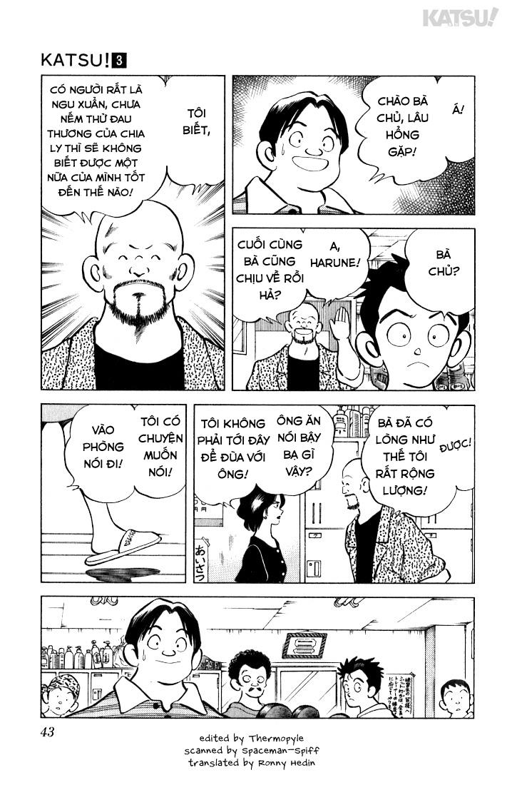 Katsu! chương 021: đừng quá kiêu ngạo chứ! trang 5