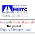 Syllabus with Study Material for the post of Deputy Manager (Law)