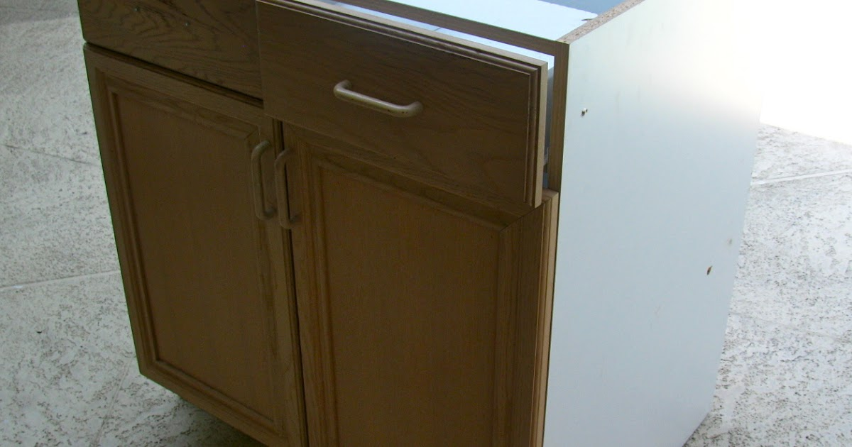 MAY DAYS: Salvage A Kitchen Cabinet