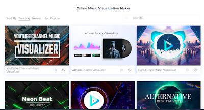 online music visualization