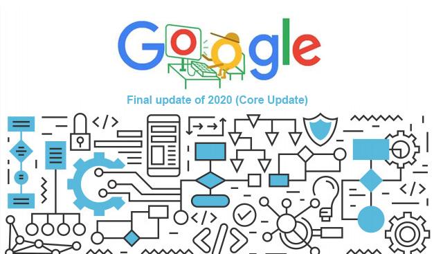 Google's Final update of 2020 (Core Update)