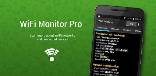 WiFi Monitor Pro v2.1 (Paid)
