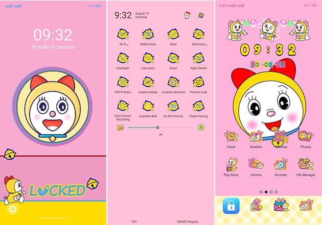 Oppo Theme: Dorami Doraemon Theme