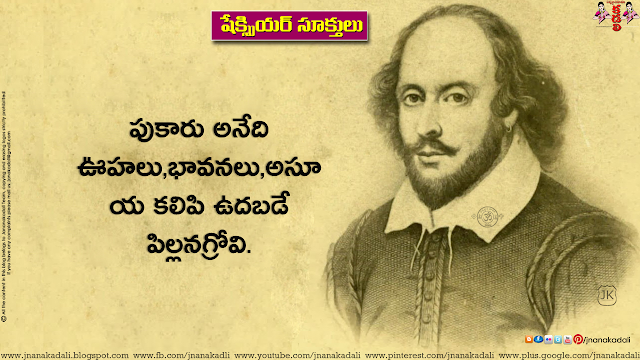 Here is a Telugu language Best Inspiring thoughts by Shakespeare in Telugu Font, Daily Motivated Words in Telugu Language, Telugu Good Inspiring Words, Motivated and Inspirational Telugu Lines by Shakespeare. Best Waste Fellow Quotes Telugu,Shakespeare Telugu Inspiring quotations Words and Nice Lines
