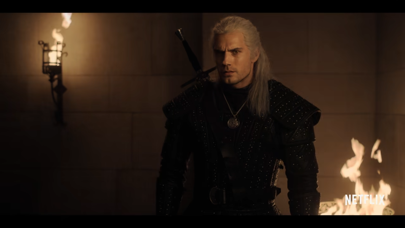 Geralt of Rivia The Witcher on Netflix