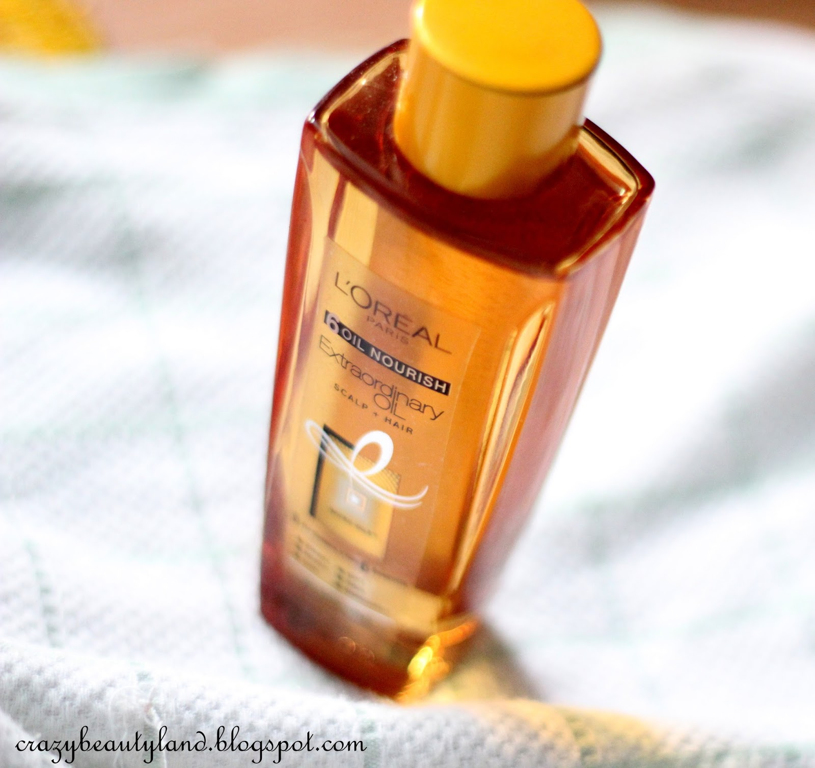 L'Oreal 6 Oil Nourish Extraordinary Oil Scalp+Hair in India - Review,photos,price, how to use it, oil for dry hair. hair care, dry hair therapy, loreal hair products,