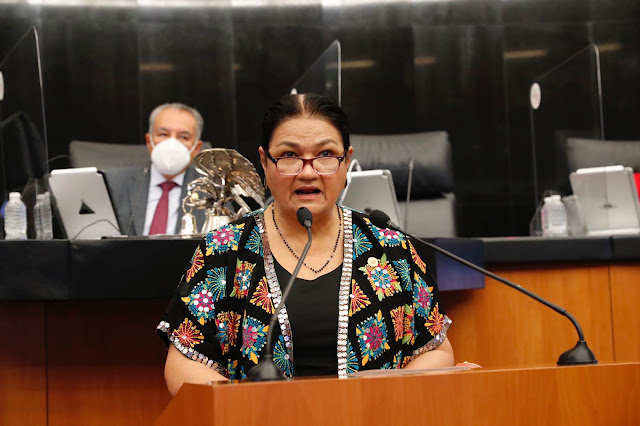 Presenta Dulce María Sauri reforma para garantizar recursos al Sistema Nacional de Cuidados