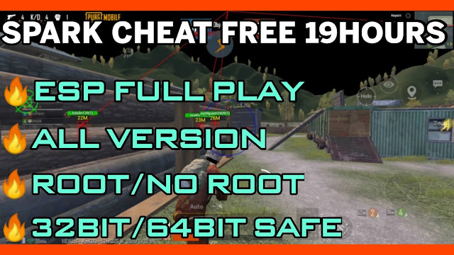 HACK PUBG MOBILE 1.1.0 NO ROOT + ROOT | INJECTOR SPARKCHEATS + ESP FULL BRUTAL KEY 19HOURS | HQT LAG GAMING