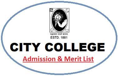Kolkata City College Merit List