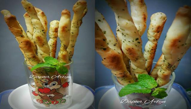 Resep Bread Stick Parsley Yang Enak dan Renyah
